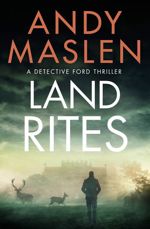 Andy Maslen - Land Rites - Book Covers