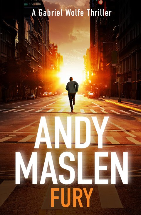 Andy Maslen - Fury - Book Cover