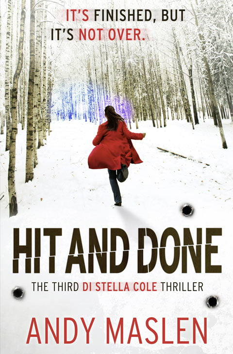 Andy Maslen - Hit and Done - Book Cover